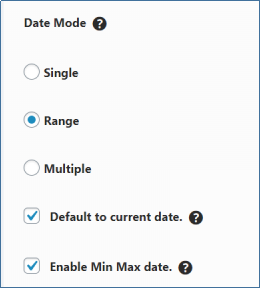 Date Modes