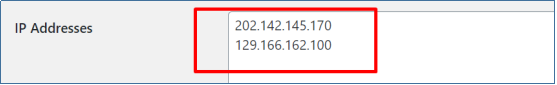 Block User By IP Address Example
